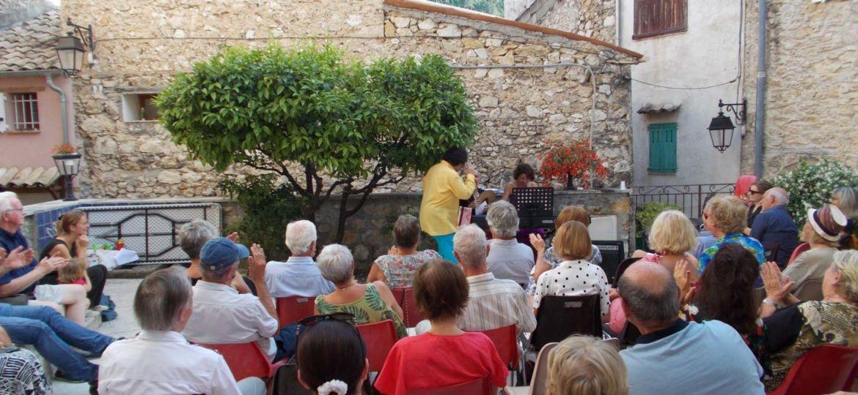 Apéro Opéra au Broc près de Gattières (Alpes Maritimes)