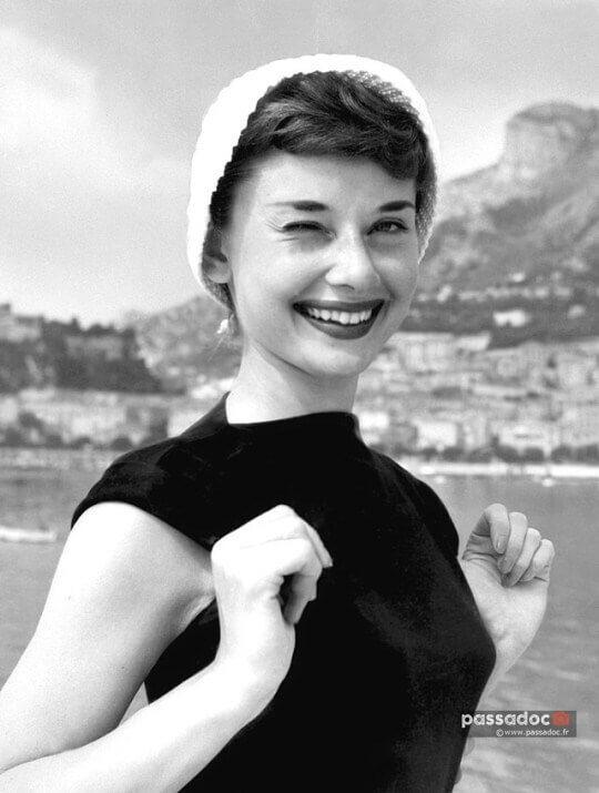 Audrey Hepburn in Monaco, 1953 | Colleen O'Eris