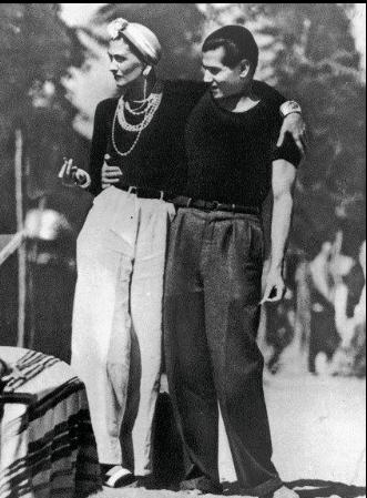 Coco Chanel et Arthur Edward Capel - Auteur photo : inconnu