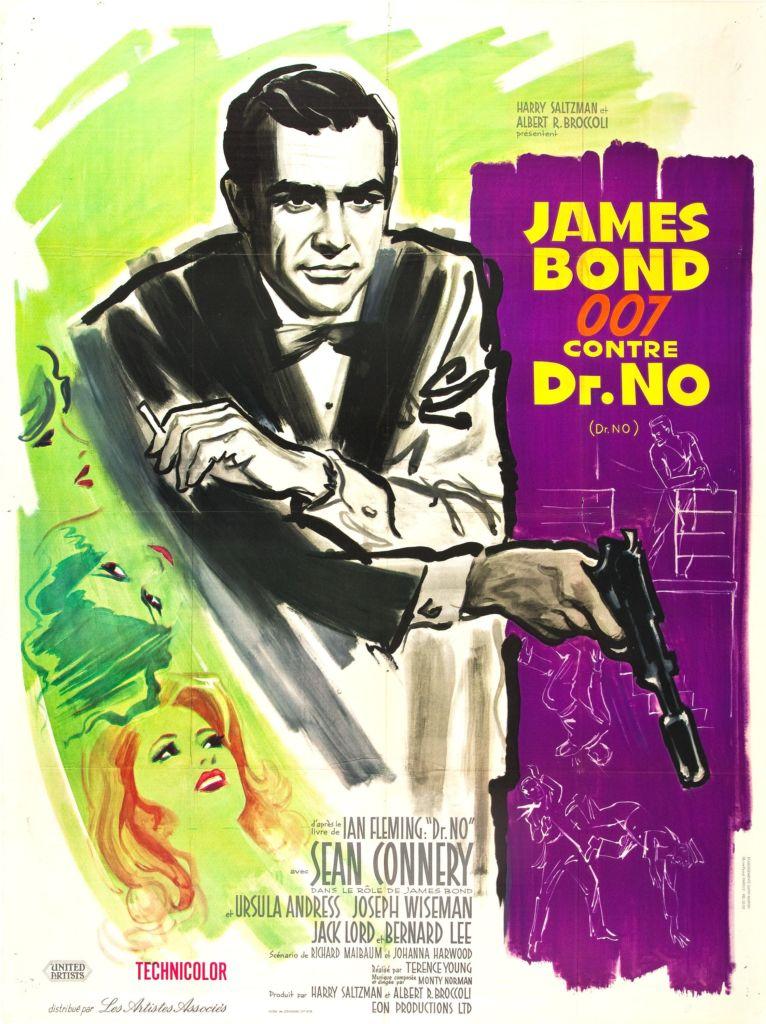 Le premier James Bond contre Docteur No avec Sean Connery