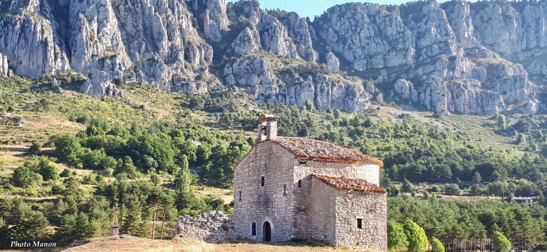 Notre Dame de Gratemoine - Seranon - Alpes Maritimes - photo Manon Brian