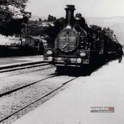 Arrivée du train en gare de la Ciotat - Bouches du Rhône - Extrait du film d'Auguste Lumière