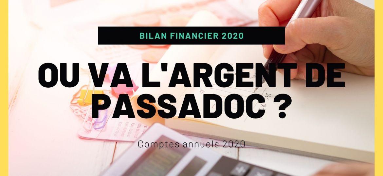 Le bilan financier de l'année 2020.